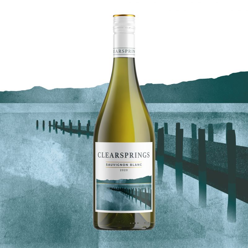 Clearsprings white wine bottle
