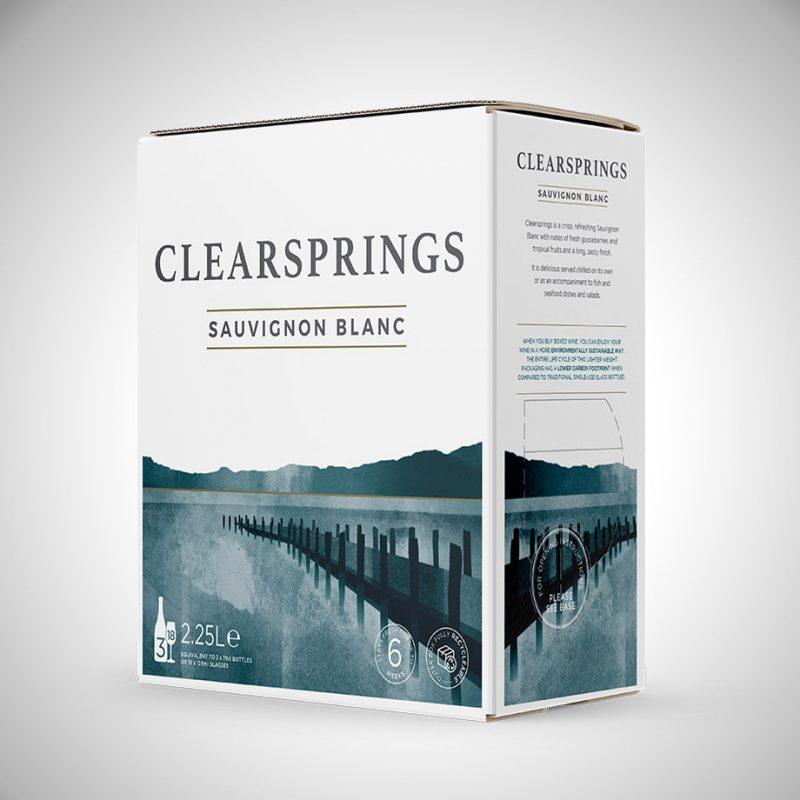 Clearsprings - box of wine