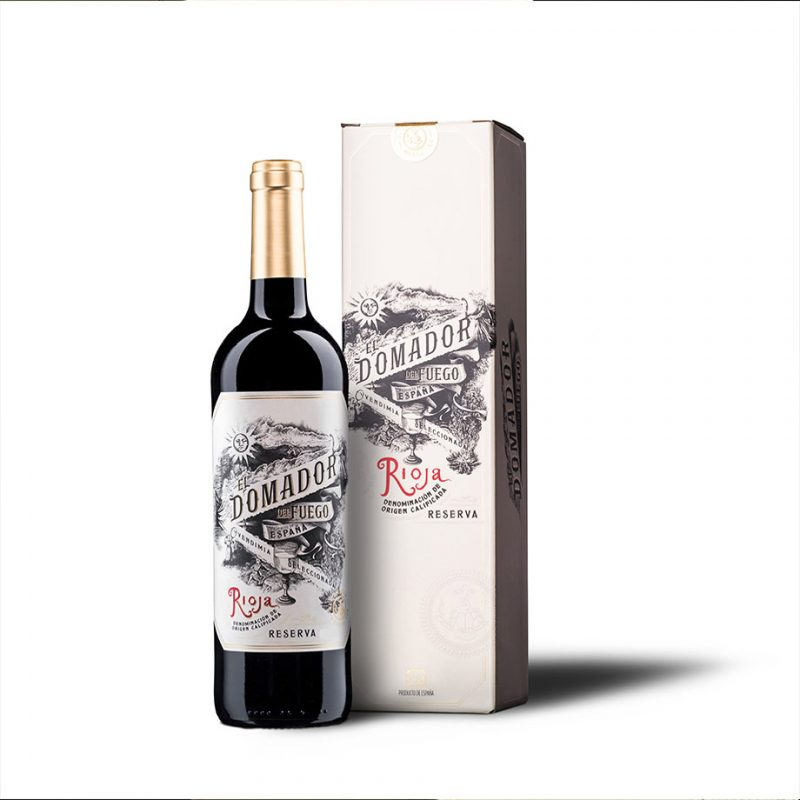 El Domador bottle and box
