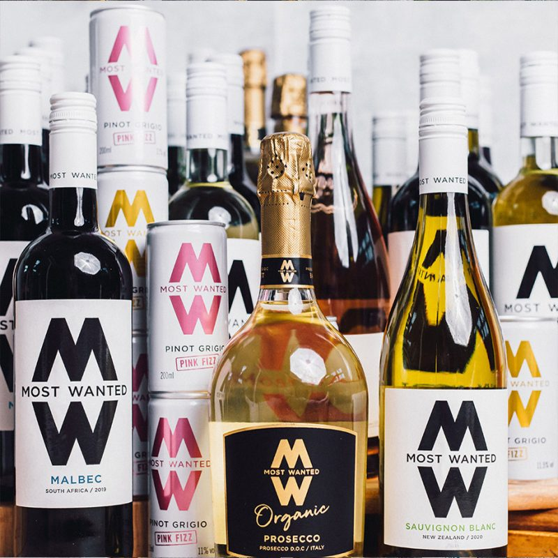 Most Wanted Wines the full range
