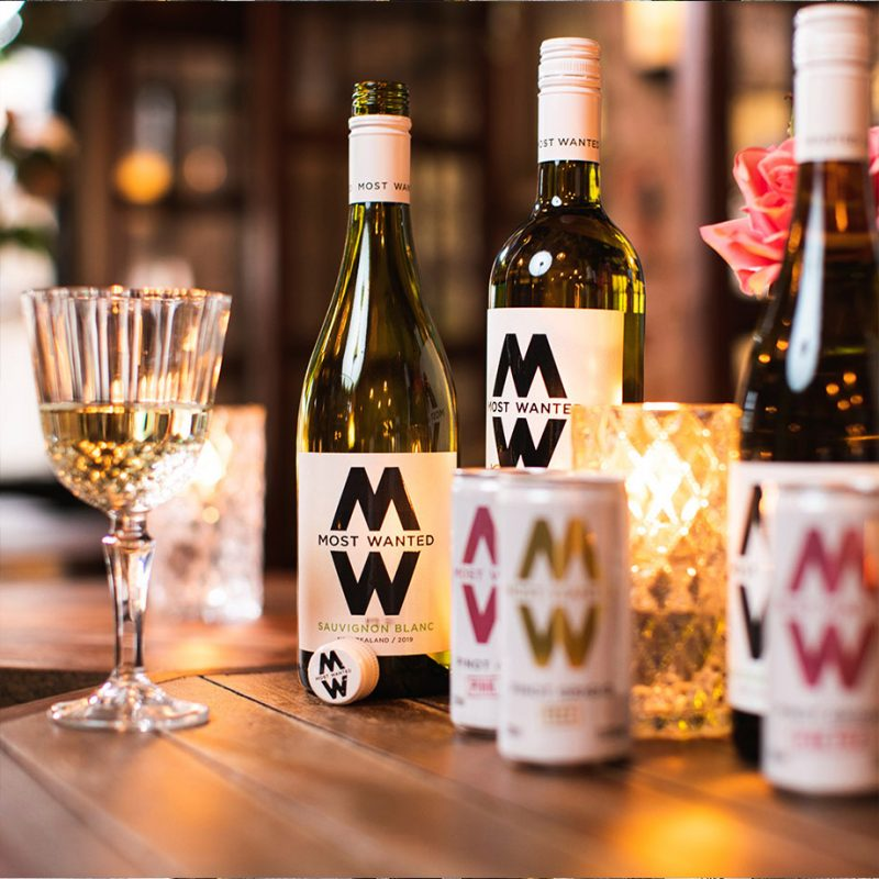 Most Wanted Wines bottles