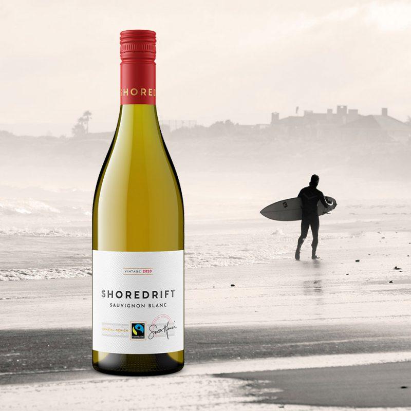 Shoredrift wine bottle